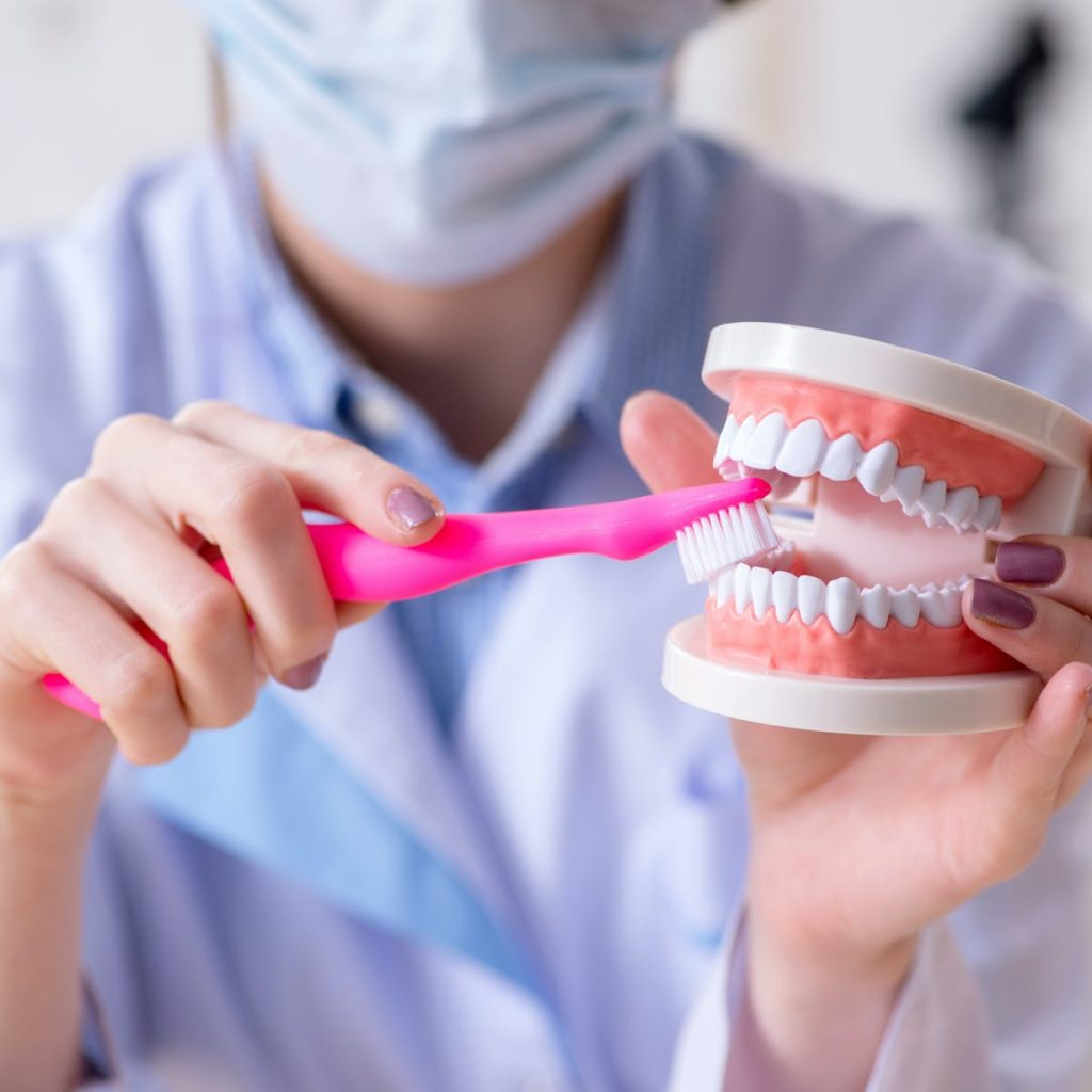 Dental cleaning service